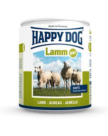 HAPPY DOG Lamm Pur 200 g Konzerv kutyáknak - bárány