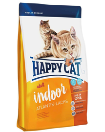 HAPPY CAT Indoor Adult Atlantik-Lachs (Atlanti-óceáni lazac) 1,4 kg