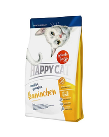 HAPPY CAT Sensitive Grainfree Kaninchen (nyúl) 4 kg