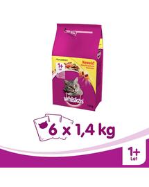 WHISKAS Felnőtt csirkével 1,4kg x 6