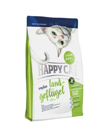 HAPPY CAT Sensitive Land-Geflügel (Bio Baromfi) 4 kg