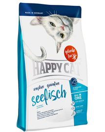 HAPPY CAT Sensitive Grainfree Seefisch (Tengeri hal) 4 kg