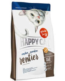 HAPPY CAT Sensitive Grainfree szarvas 300 g