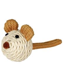 TRIXIE Egér zörgővel kötélből, 5cm