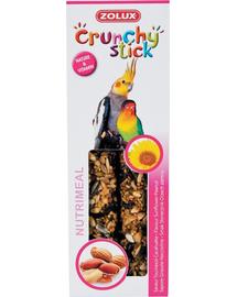 ZOLUX Crunchy Stick nagy papagájoknak napraforgók-földimogyoró 115 g