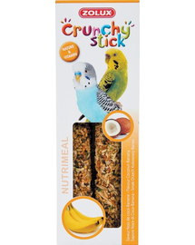 ZOLUX Crunchy Stick kicsi papagáj kókuszdió-banán 85 g