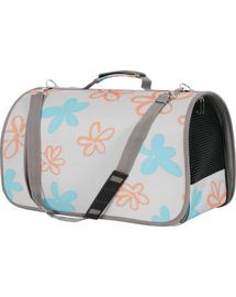 ZOLUX Szállító táska Flower nagy szürke