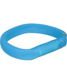 TRIXIE Karika USB flash lámpával, L–XL: 70 cm-30 mm, kék
