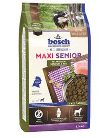 BOSCH Maxi Senior szárnyas és rizs 1 kg