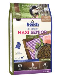 BOSCH Maxi Senior szárnyas és rizs 2,5 kg