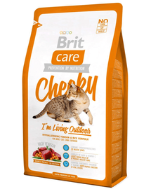 BRIT Care Cat Cheeky I'm Living Outdoor 7 kg