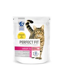 PERFECT FIT Adult 1+ marhahúsban gazdag eledel macskáknak 750 g