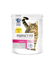 PERFECT FIT Adult 1+ lazacban gazdag eledel macskáknak 750 g