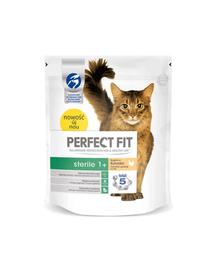 PERFECT FIT Sterile 1+ csirkében gazdag eledel macskáknak 750 g