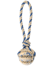 TRIXIE Dentafun labda kötéllel 7 cm