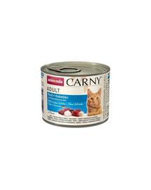 ANIMONDA Carny macska marhahús-tőkehal petrezselyem gyökérrel 200 g