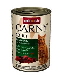 ANIMONDA Carny Konzerv marhahús-őz áfonyával 400 g