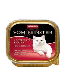 ANIMONDA Eledel Vom Feinsten herélt macska  pulyka-paradicsom 100 g