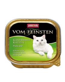 ANIMONDA Eledel Vom Feinsten herélt macska  pulyka 100 g