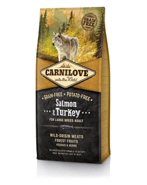 CARNILOVE kutya Adult Large Breed lazac-pulyka 12 kg