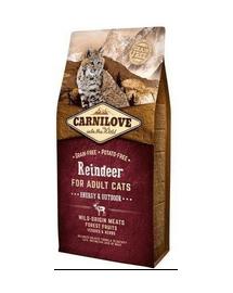 CARNILOVE macska Energy - Outdoor szarvas 2 kg