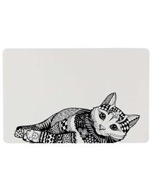 TRIXIE Tálka alátét Zentangle 44 × 28 cm