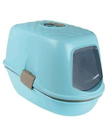 TRIXIE Macskatoalett Berto Top, világos kék-világos szürke-gránit, 39×42×59 cm