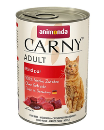 ANIMONDA Carny Adult marhahús 400 g