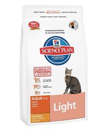 HILL'S Science Plan Feline Adult Light Chicken 5 kg