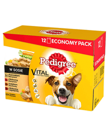 PEDIGREE Íz mix 4 x 12x100g