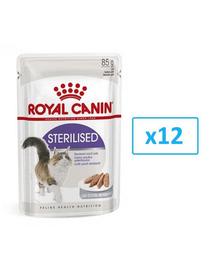 ROYAL CANIN sterilised Pástétom 12x85g