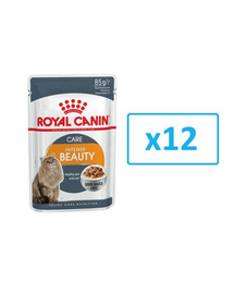 ROYAL CANIN Intense BEAUTY mártásban 85 g x 12