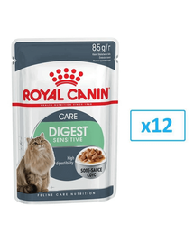 ROYAL CANIN Digest SENSITIVE mártásban 85 g x 12