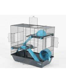 ZOLUX Ketrec Indoor Duplex 50 cm hörcsögöknek szürke-kék
