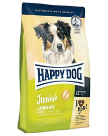 HAPPY DOG Junior Lamb & Rice (bárány és rizs) 10 kg