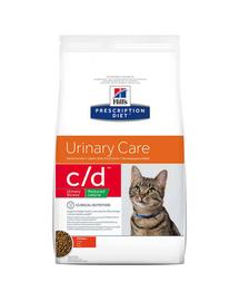 HILL'S Prescription Diet Feline c-d Stress Reduced Calorie Chicken 4 kg