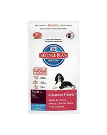 HILL'S Science Plan Canine Adult Advanced Fitness Tuna - Rice 12 kg