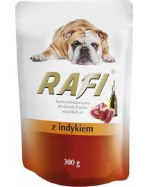NOTECI VALLEY Rafi pulyka nedves kutya eledel 300 g