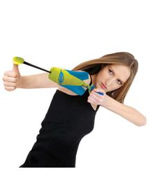 NERF Kilövő Wyrzutnia játékkal cibáláshoz M zöld-narancsszínű