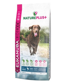 EUKANUBA Nature Plus+ Adult Large Breed Rich in freshly frozen Salmon 2,3 kg