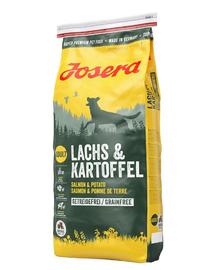 JOSERA adult lazac - krumpli 15 kg