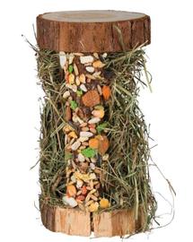 TRIXIE Drewniana wieża z siankiem górskim 13×17×13cm 110G