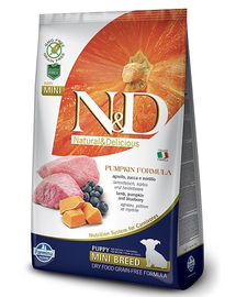 N&D GF Pumpkin Lamb & Blueberry Puppy Mini 7 kg