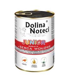 DOLINA NOTECI marhaszív 400g alutasak kölyök és növendékkutyák számára