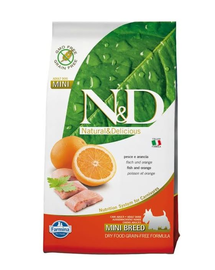 N&D Fish & Orange Adult Mini 7 kg