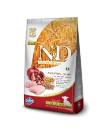 N&D Low Grain Chicken & Pomegranate Mini Puppy 7 kg