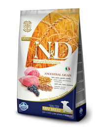 N&D Low Grain Dog Lamb & Blueberry Puppy Mini 7 kg