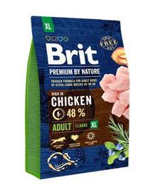 BRIT Premium By Nature Adult Extra Large 3 kg