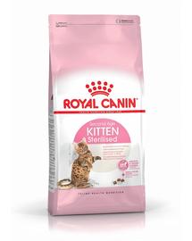 ROYAL CANIN KITTEN STERILISED - ivartalanított kölyök macska száraz táp 3,5 kg
