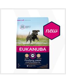 EUKANUBA Developing Junior Large Breed bogata w świeżego kurczaka 3kg